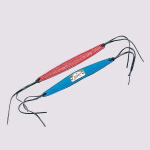 Кожаные браслеты красного и синего цветов с символикой Зенит