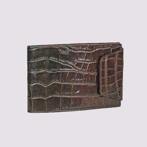 Еженедельник кожаный карманный датированный с застежкой