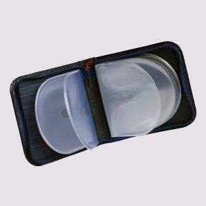 Футляр для CD дисков с силиконовыми вставками
