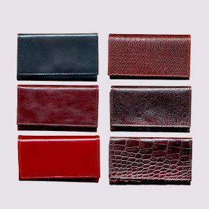 Ключницы из кожи различных цветов