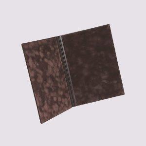 Адресная папка в коричневом цвете