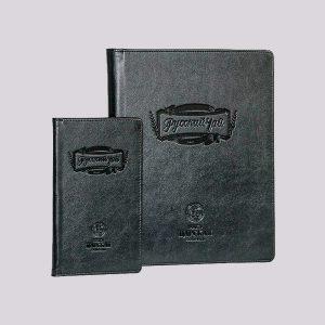 Папки для меню и счета в ресторан в черном цвете