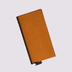 Папка в ресторан в оранжевом цвете