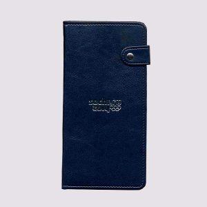 Кожаное тревел-портмоне с символикой Сочи 2014