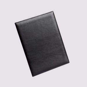 Адресная папка в черном цвете