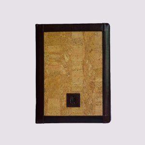 Кожаные папки для бизнес-блокнотов в деревянном стиле