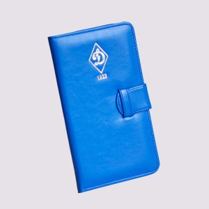 Кожаное тревел-портмоне с логотипом Динамо